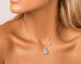Bridal Necklace, Wedding Necklace, Crystal Necklace, Bridal Jewellery, Wedding Jewellery, Bridesmaid Necklace, Bridal Wedding Jewelry