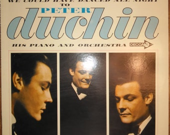 Peter Duchin - We Could Have Danced All Night DL-74436 Vinyl Record LP 1964