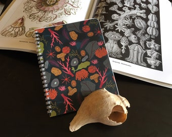 Coral Reef Spiral Bound Lined Notebook 5.5 x 7.25""