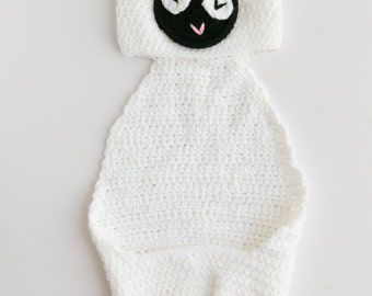 Newborn Baby Boy/Girl Sheep Animal Crochet Cuddle Critter Cape - Photography Prop Outfit