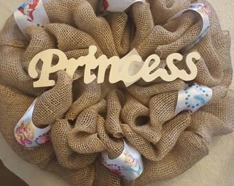 princess wreath/Cinderella, Ariel, and sleeping beauty, princess
