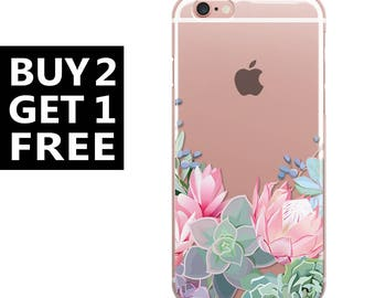 Floral iPhone Case Clear iPhone 7 iphone 6S iphone 6 iphone 6 Plus iphone 6s iphone 6s plus,iPhone 7 Plus,case,cover, with Flowers,47