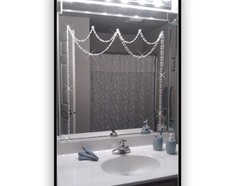 Mirror Bling..... Crystal Resin.....Adjustable