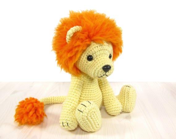 Crochet Amigurumi Lion Patterns : Pattern: lion amigurumi lion pattern crochet tutorial with