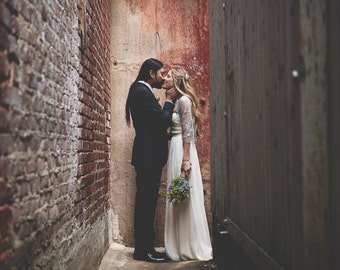 Rustic Wedding Silver Bridal Shrug, Shawl For Bride. Evening Dress Cover UP Metallic Lace Bolero, 4-Options Shawl For Wedding. Bridal Shrug
