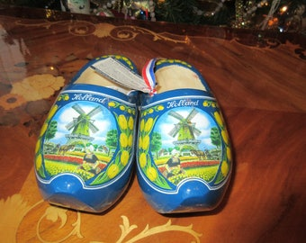 HOLLAND WOOD SHOES or Clogs