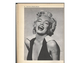 The Films of Marilyn Monroe, by Mark Conway & Mark Ricci, Classic Hollywood, Movie Star Photos