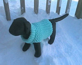 Immediate Download - PDF Crochet Pattern for the Snow Daze Dog Sweater