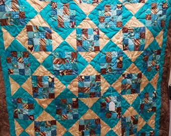 Square Time quilt