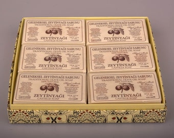 Turkish Olive Oil Soap- 6th Gift Set