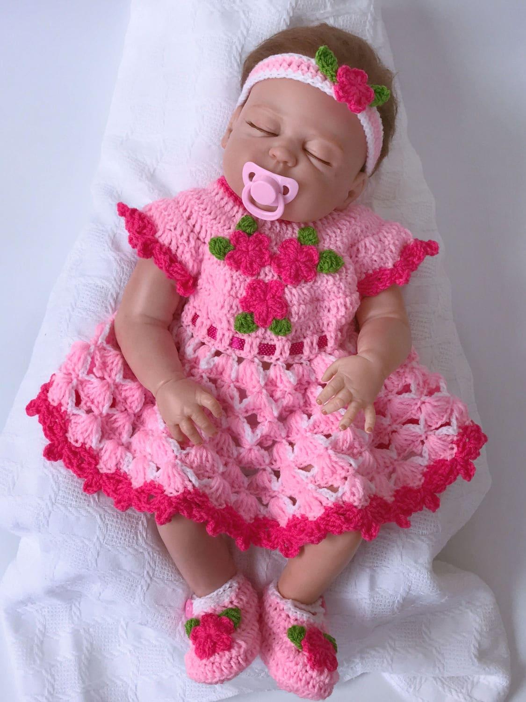 Bebé vestido vestido de la Navidad del bebé vestido del