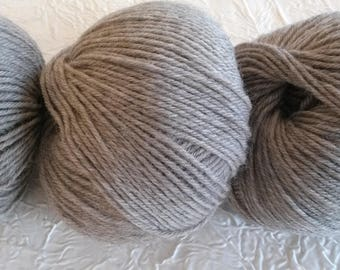 organic wool 100% pure new wool - getting-beige Pearl. 50 g.
