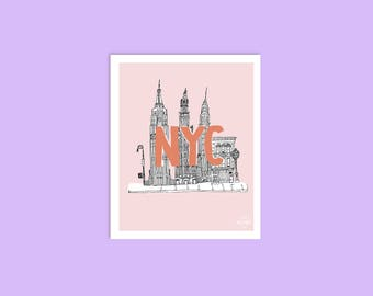 NYC Small Art Print
