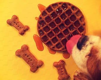 Chicken 'n' Woof-les Dog Treats