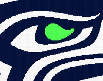 Crochet SeaHawks C2C Graph only