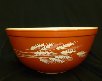Pyrex Autumn Harvest bowl, #403