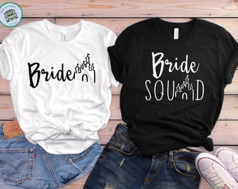Disney Bride Shirt | Disney Bachelorette Party Shirts | Disney Bridesmaid Shirts | Disney Bride Squad Shirts | Disney Team Bride