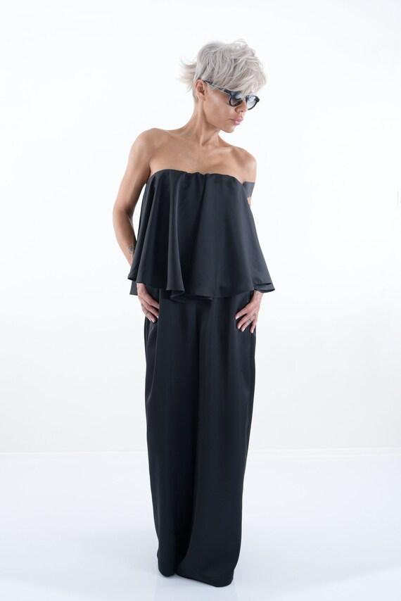 Plus clothing Women Jumpsuit Jumpsuit jumpsuit Harem Harem size Clothing Black Size for Pants Women Women Jumpsuit Clothing Plus zwYqUxUI