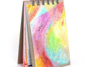 Repurposed Paper Notebook - Colored Cover - Meg Marano - Keep It In Your Room -Mmmk Creative