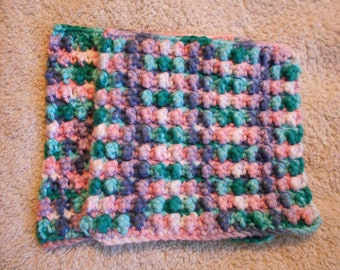 Crochet dishcloth washcloth face cloth set of 2 100% cotton Hobby Lobby's I Love This Cotton spa cloth baby kitchen gift house warming