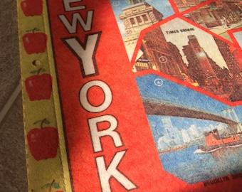 80's New York City Pennant - Vintage Flag NYC
