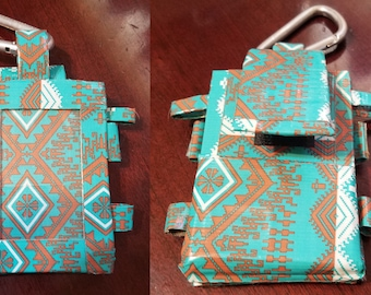 Patterned Duct Tape Wallet