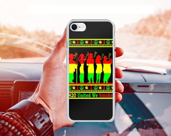 United We Smoke iPhone Case-Weed Cell Phone Case