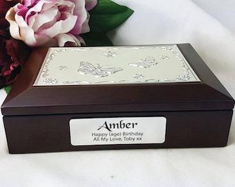Birthday Rosewood Jewel Box - Personalised