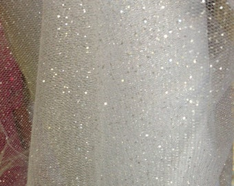 Item: M0954, 2 Yards, 52 inches wide, Beautiful Color Glitter Mesh