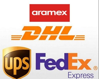 Upgrade expedited shipping FedEx, DHL, UPS fast shipping