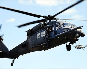 Poster, Many Sizes Available; Hh-60G Pave Hawk Helicopter 106Th Rescue Wing