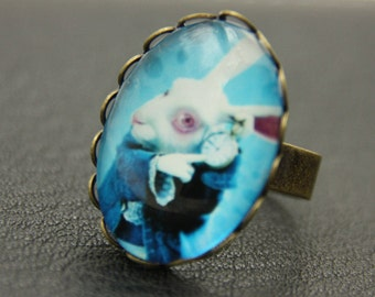Alice rabbit Ring  (1825B)