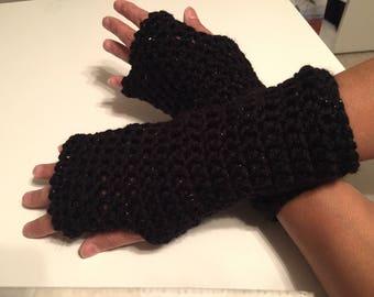 Basic Bling Texting Gloves