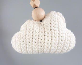 Crochet pattern cloud