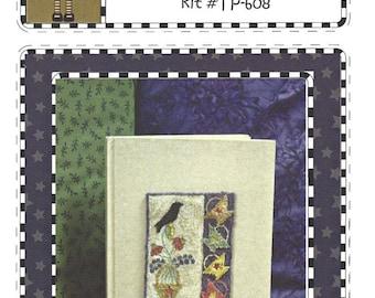 The Teachers Pet - Spring Journal - Punchneedle Design on Weavers Cloth - Blank Journal - Pattern Instructions
