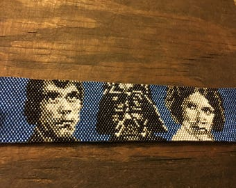 Star Wars beaded bracelet