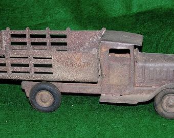 "METALCRAFT; ""Standard"" Stake Side Truck; c. 1930's"