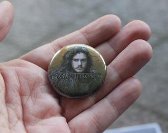 Jon Snow Button
