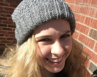 Mossy Knit Hat READY TO SHIP