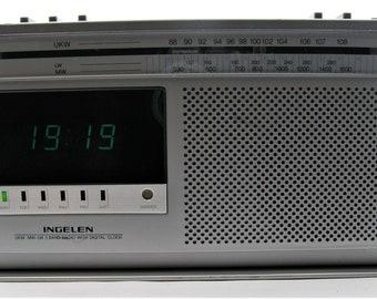 Vintage Clock radio INGELEN GT 200