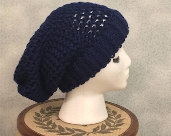Custom Color Basic Slouchy Knit Beanie