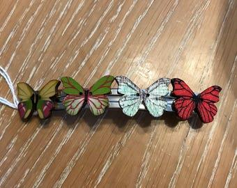 Butterfly 10cm clip