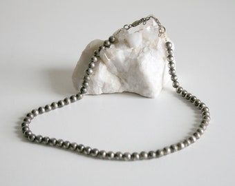 Sterling Desert Pearl Necklace