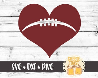 Football SVG, Football Heart Svg, Football Laces Svg, Game Day Svg, Svg Files, Cut Files for Cricut, Svg for Cricut, Svg for Silhouette
