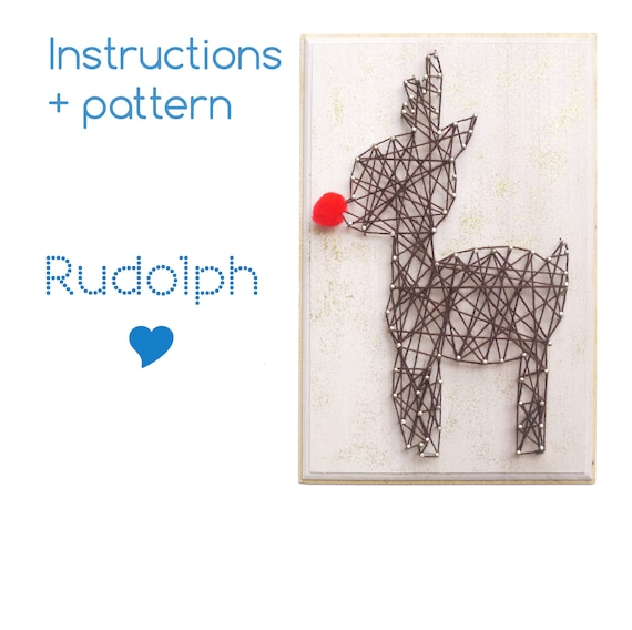 String art patterns and instructions