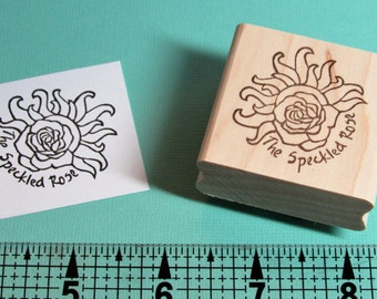 Custom Made, Hand Carved, Logo Stamp, for your business