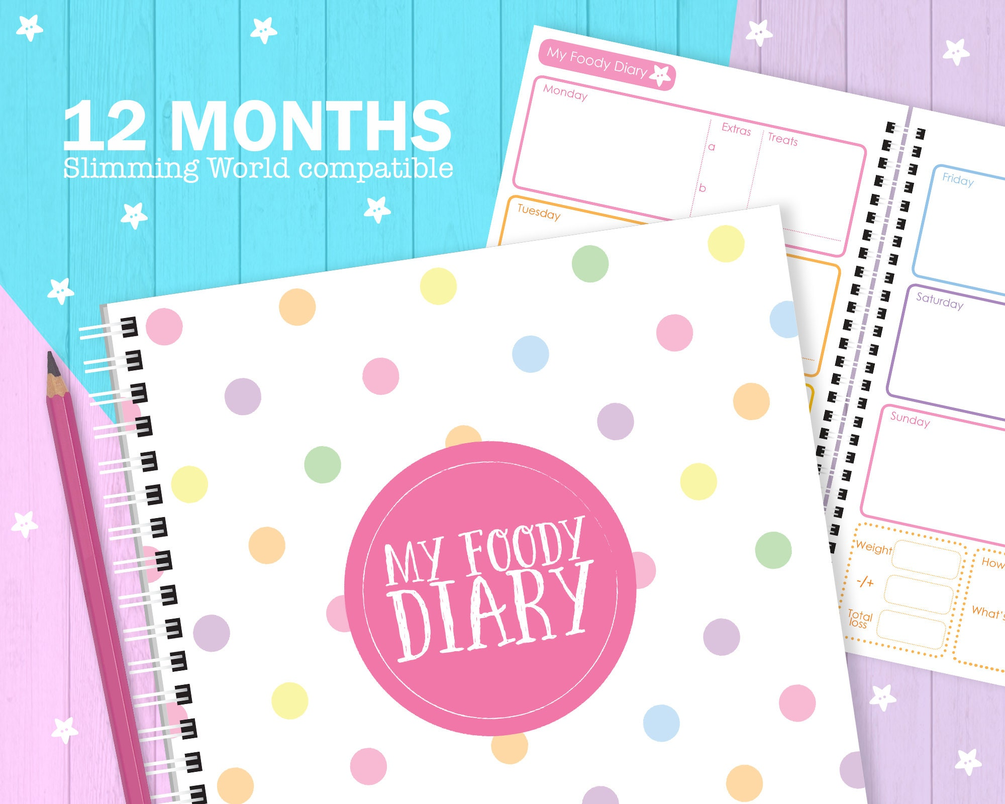 My Foody Diary: compatible with Slimming World 12 months