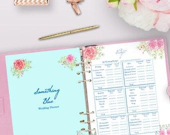 Wedding Planning Journal Printable, Wedding Planner Printable PDF, Binder Printables, Planning Book, Checklist, Letter Size Instant Download