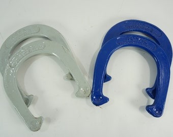 4 Horseshoes, Horseshoe Game Pieces, Royal St. Pierre, Worcester MA Outdoor Games, Yard Party Games, 2 Pound Horseshoes, Free Ship