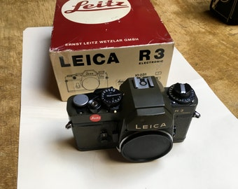 LEICA R3 Original box